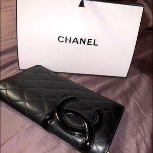 Authentic Chanel Cambon Ligne Long Wallet